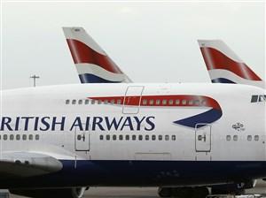"""British Airways apologized in a statement for what it called an """"IT systems outage"""" and said it was working to resolve the problem."""
