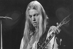 Gregg Allman in December 1974.