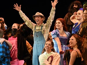"Hampton's production of ""Big Fish,"" above, and Baldwin's ""Zorro the Musical"" were among the big overall winners Saturday night at the Pittsburgh CLO's 27th annual Gene Kelly Awards for Excellence in High School Musical Theater."