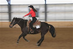 Rachel Wiles is a junior at Mt. Lebanon who will be riding for a national championship July 1 in Oklahoma City.
