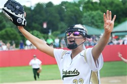 Belle Vernon's Bailey Parshall has plenty to celebrate as one of the top pitchers in the WPIAL.