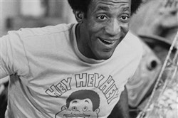 "The way he was: Bill Cosby on ""Fat Albert and the Cosby Kids,"" August 1972."