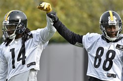 Sammie Coates and Darrius Heyward-Bey