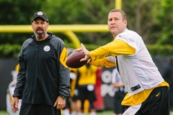 Todd Haley, Ben Roethlisberger and the Steelers get back to work when training camp opens later this week at Saint Vincent College in Latrobe.