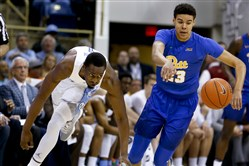 Cameron Johnson is attempting to transfer from Pitt to North Carolina.