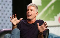 "Chef and TV personality Anthony Bourdain is currently in West Virginia working on an episode for his CNN show, ""Parts Unknown."""