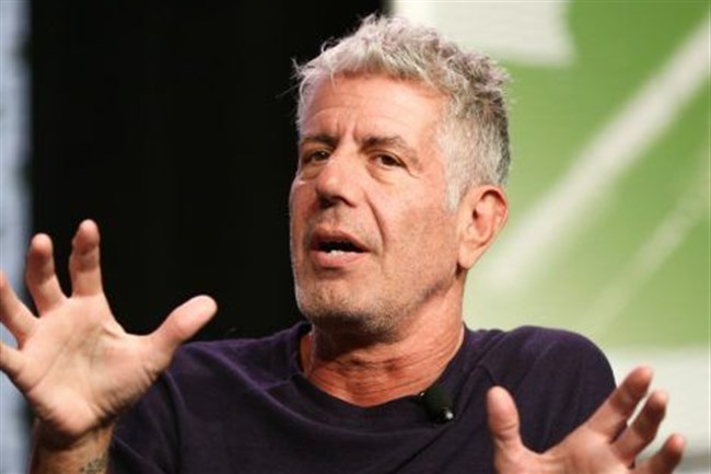 Chef and TV personality Anthony Bourdain in 2016.