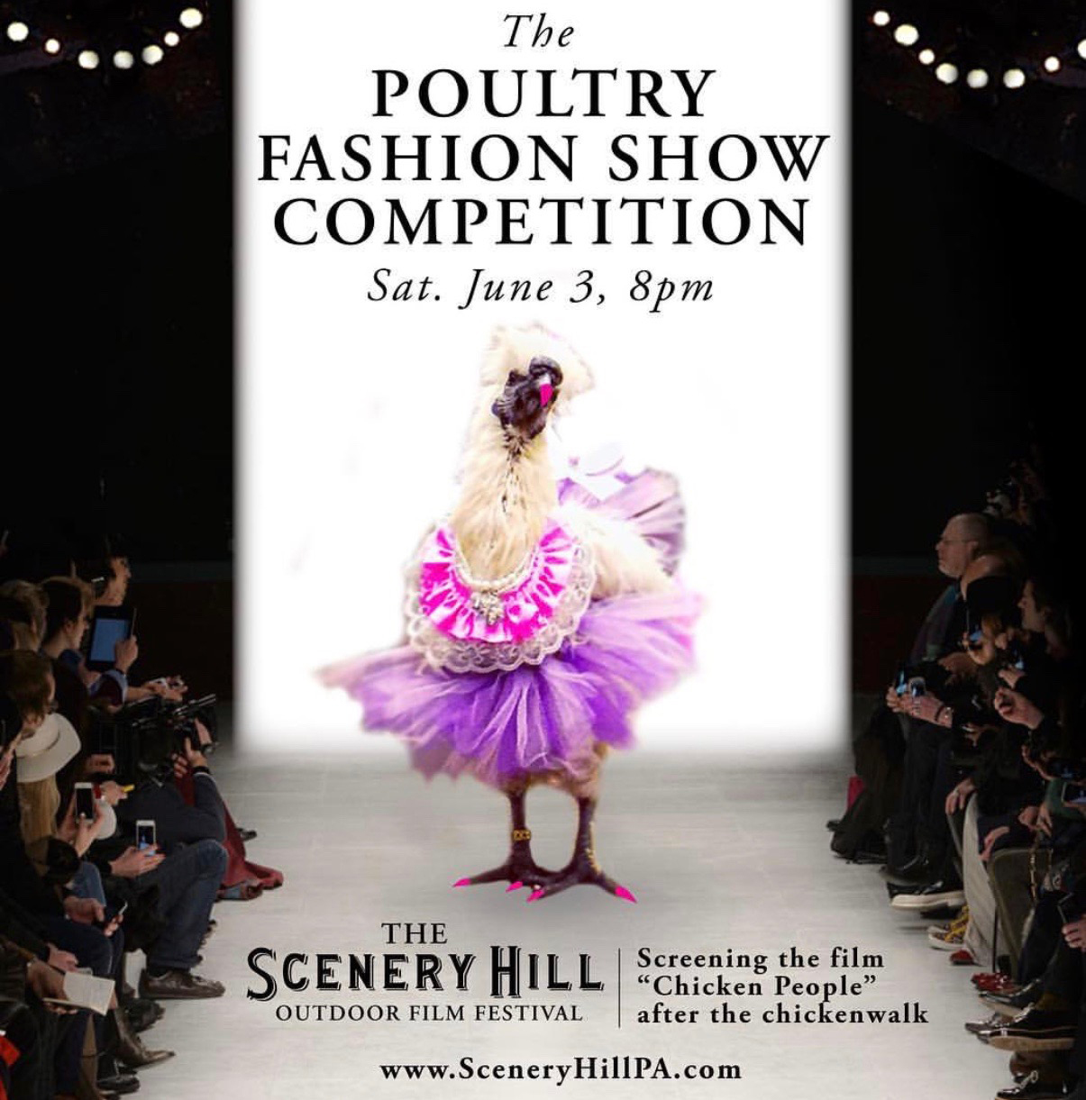 Poultry0610_Poster-1 Poultry Fashion Show poster. Poultry 0610