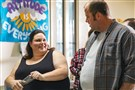 "Chrissy Metz as Kate and Chris Sullivan as Toby in ""This Is Us."""