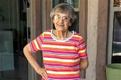Thelma Marie Brown Bell Samarco turned 100 on June 8.