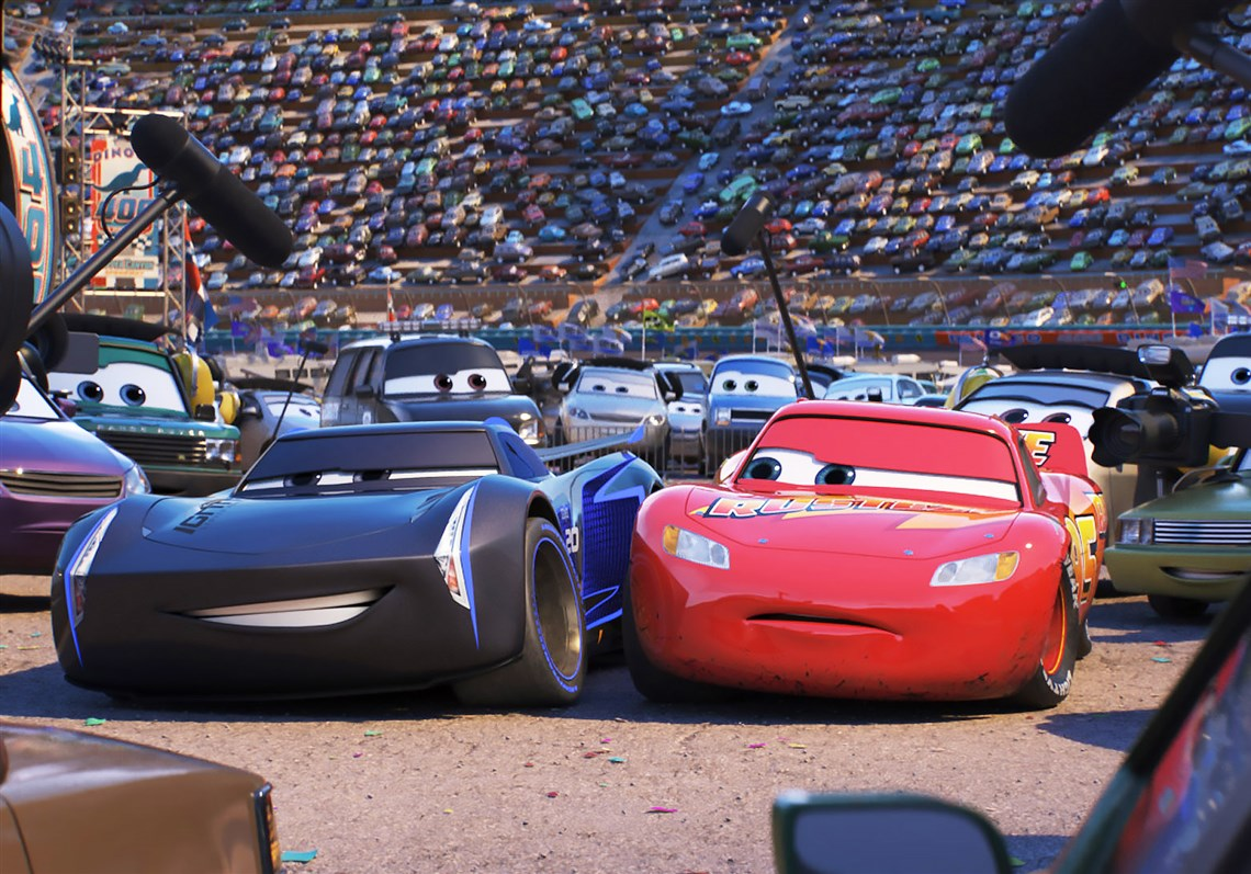 Jackson Storm (voice of Armie Hammer) and Lightning McQueen (voice of Owen Wilson & Movie review: u0027Cars 3u0027 is merely a sketch of a movie | Pittsburgh ... azcodes.com