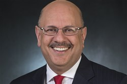 Farnam Jahanian, who has been appointed  interim president of CMU.
