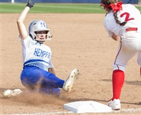 Sophomore Olivia Persin is part of the youth movement at Hempfield as a starting second baseman.