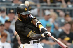 "Josh Harrison is on pace to get hit by 33 pitches in 2017. ""It's getting a little out of hand,"" Pirates manager Clint Hurdle said."