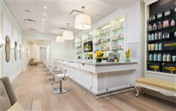 Drybar, which has 70-plus locations across the country, is known for its crisp, clean interior with pops of buttercup yellow. Its first Pittsburgh location is now scheduled to open June 30 in Upper St. Clair.