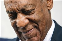 Bill Cosby exits the courthouse after a mistrial on the sixth day of jury deliberations of his sexual assault trial at the Montgomery County Courthouse, June 17 in Norristown, Pa.