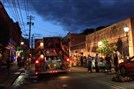 Three people were in Millvale Studios, located in the 200 block of North Avenue near Grant Avenue, when a fire began Monday around 7:45 p.m, Millvale Volunteer Fire Chief Karl Cavanaugh said. All three escaped.