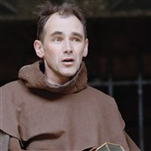 "Mark Rylance in Shakespeare's ""Measure for Measure."""