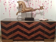 Michelle Workman's Fitzgerald Credenza from the Facet Collection for French Heritage.