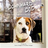 """Downward Dog""-inspired book of poems, image courtesy Animal Media Group"