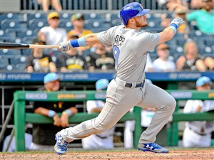 It wasn't that long ago Ian Happ was hitting home runs at Mt. Lebanon High School. Now, Happ is in the major leagues hitting home runs for the Chicago Cubs, like the one he hit here against the Pirates Sunday at PNC Park.