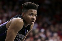 Washington guard Markelle Fultz is shown during the second half of an NCAA college basketball game against Arizona, in Tucson, Ariz. Fultz is the likely No. 1 pick in the NBA Draft on Thursday night, June 22.