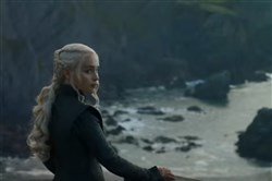 "Daenerys Targaryen (Emilia Clarke) finally arrives in Westeros in the latest ""Game of Thrones"" season 7 trailer."