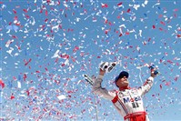 Kevin Harvick won for the first time this season, on the road course at Sonoma, where experience pays off.