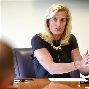 """This element of the proposed tax reform bill is very disconcerting,"" Heather Lyke said of a provision that would eliminate tax-deductible contributions that help fund many college athletics."