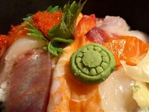 A Donburi bowl of sashimi at Tan Izakaya in Shadyside.