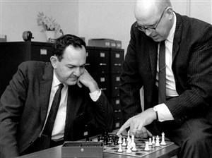 Together, Allen Newell and Herbert Simon pioneered the field of artificial intelligence at Carnegie Tech -- now Carnegie Mellon University -- in the 1950s.