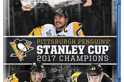 Sidney Crosby, Evgeni Malkin and Jake Guentzel made the cover.