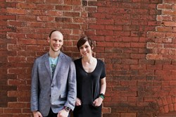 Ryan and Sarah Kanto, who plan to start Quantum Spirits on Main Street in Carnegie this summer and open a tasting room to the public early in 2018.