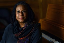 University of Pittsburgh jazz director and pianist Geri Allen in 2014.