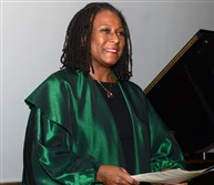 University of Pittsburgh jazz Studies director and pianist Geri Allen performs at the University of Pittsburgh in 2015.