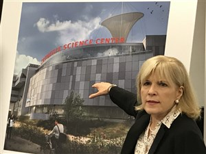 Ann Metzger, co-director of the Carnegie Science Center.