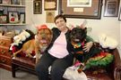 darlene harris with the dogs of dogday0701