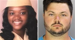 David Desper, 28, right, has been charged in the road-rage shooting death of 18-year-old Bianca Roberson, left.