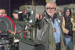 "Writer-director George A. Romero on the set of ""George A. Romero's Land of the Dead,"" which was released in 2005."