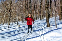 Cross-country skiing at Blue Knob in Claysburg, Blair County. The all-seasons resort has been purchased by Pittsburgh investors.