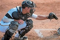 "Josh Spiegel has drawn praise for his work at catcher. ""It's a level of maturity,"" said opposing coach Mark Saghy."