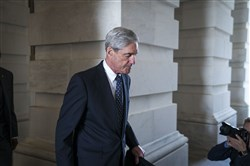 Robert Mueller, the former FBI director and special counsel who is leading the Russia investigation, leaves the Capitol in Washington on June 21.