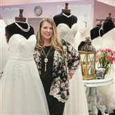 Mashel Rathmell is co-owner of This Magic Moment, one of the shops particpating in the dress rescue.