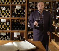 Marshall Katz of Shadyside in his wine cellar in 2005.