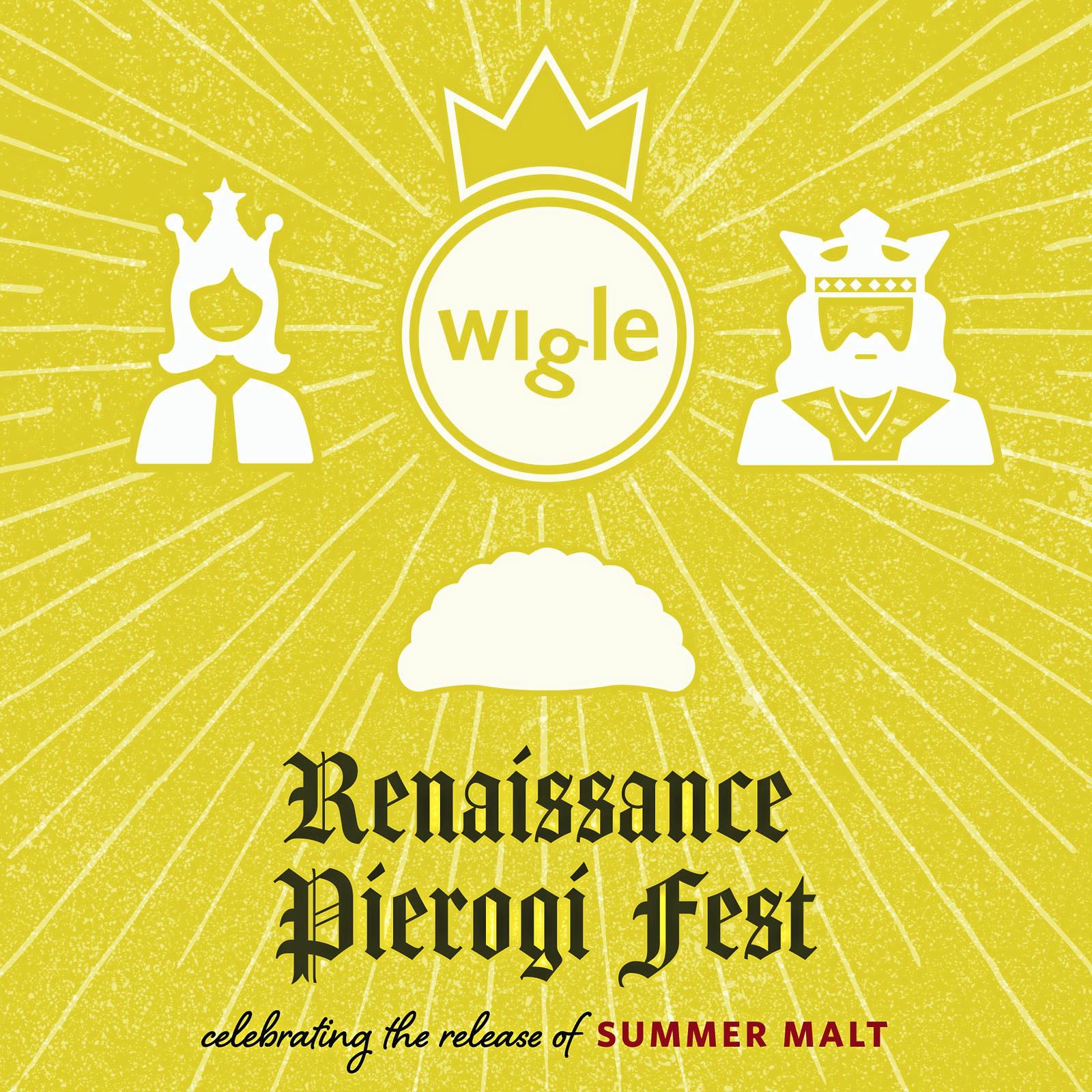 logo wigle renaissance pierogi fest Wigle Renaissance Perrogi Fest logo