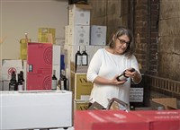 Ruth Barsotti, of Barsotti Wines in the Strip District.