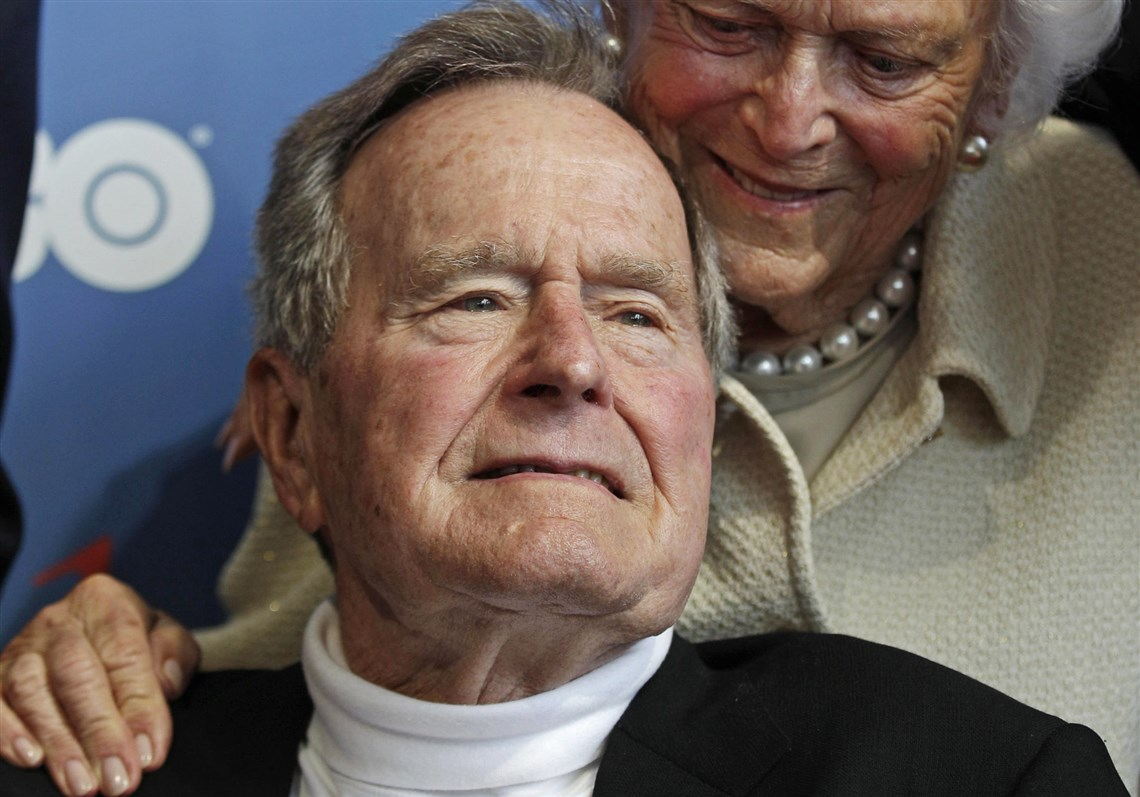 George H.W. Bush --- the sage of the offered hand