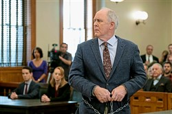 "John Lithgow as Larry in an episode of ""Trial and Error.""  Could his character return?"