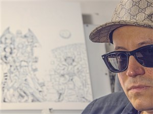 Ed Piskor, 34, of Munhall, is a local cartoonist who will soon have a comic published by Marvel.