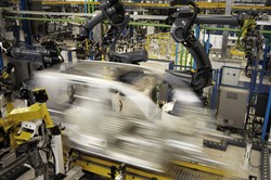 "This photo depicts ""speedy manufacturing since our technology accelerates the product development process,"" according to Andrea Fuller, a Citrine Informatics spokesperson (Image courtesy of Citrine Informatics)."